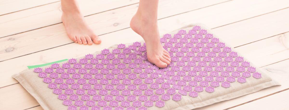 tapis d'acupuncture pour les pieds